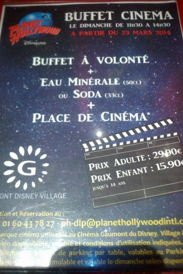 buffet-cinema-planet-hollywood