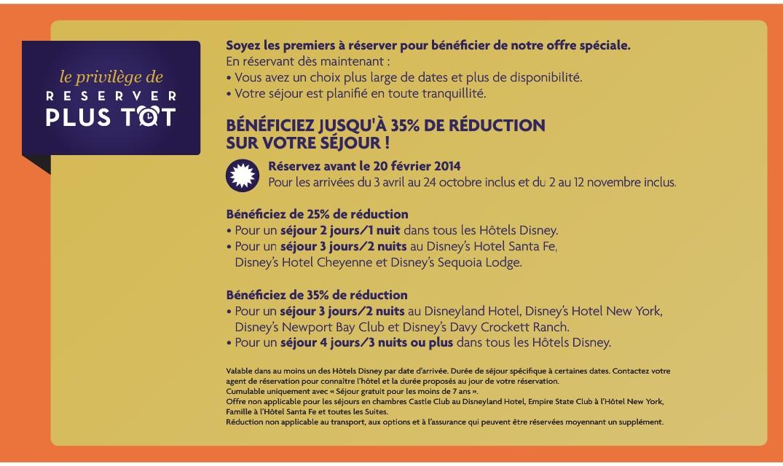 Bons plans h tels disney disneyland paris bons plans for Bon plan hotel paris