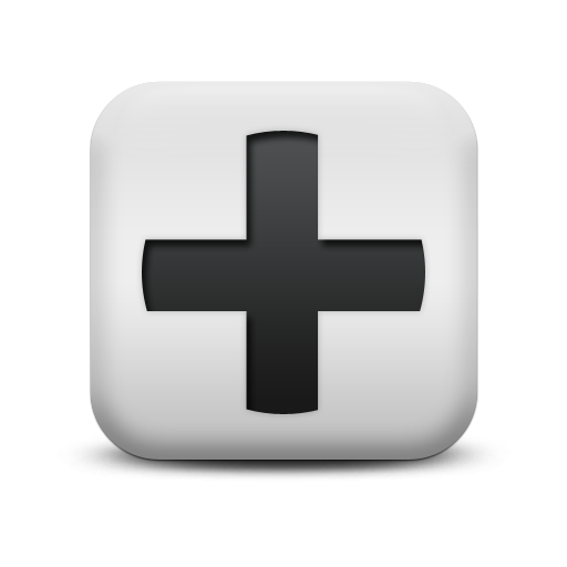 124352-matte-white-square-icon-alphanumeric-plus-sign-simple