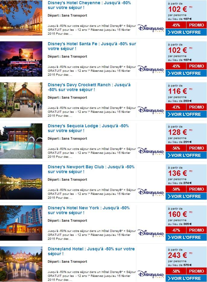Vente Flash Pour Des Sejours A Disneyland Paris Sur Carrefour