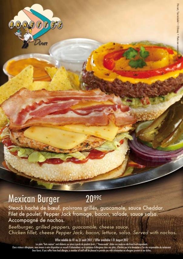 Annettes - Mexican Burger (aout 17)