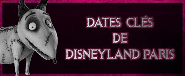 les dates cl s de disneyland paris disneyland paris bons plans. Black Bedroom Furniture Sets. Home Design Ideas