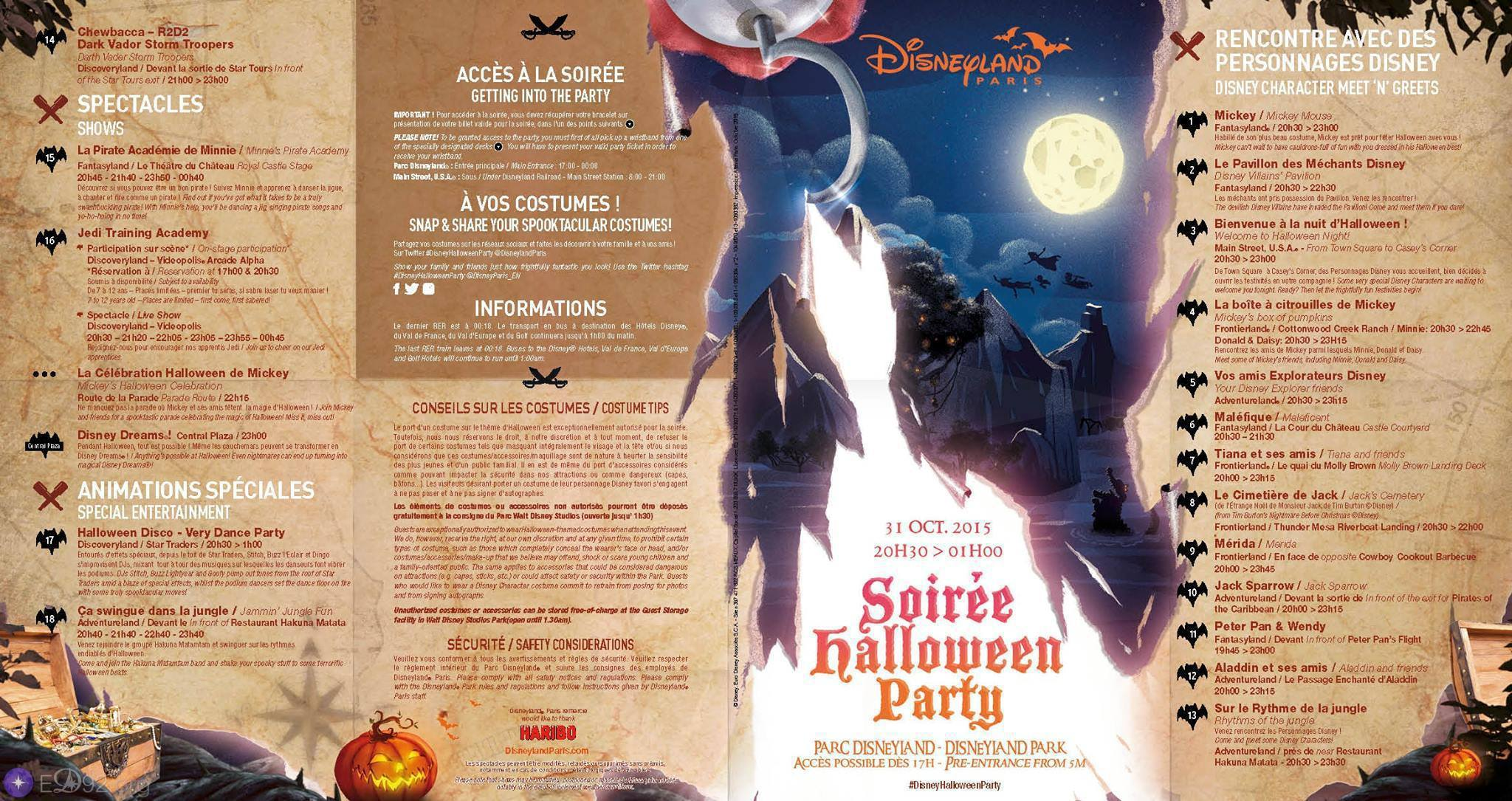 Hello Disneyland : Le blog n°1 sur Disneyland Paris | Halloween à ...
