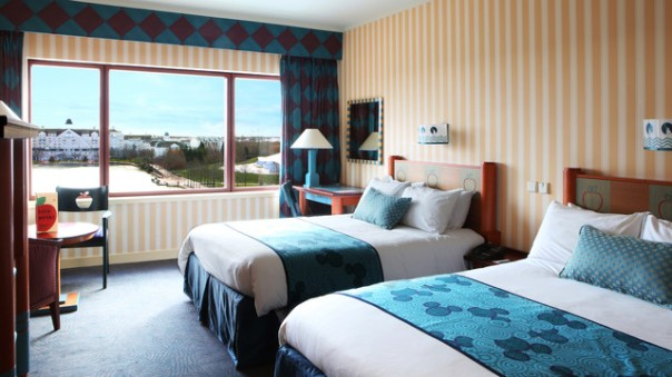 Disney s hotel new york disneyland paris bons plans for Standard hotel paris