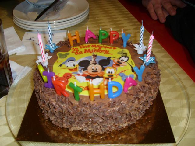 Gateau anniversaire restaurant disney les recettes les plus populaires de g teaux en europe - Gateau anniversaire disney ...