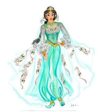 BS192 - 20-21 - costume jasmine