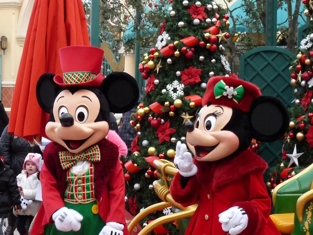Mickey et minnie vous souhaitent un joyeux no l 1 - Joyeux noel disney ...