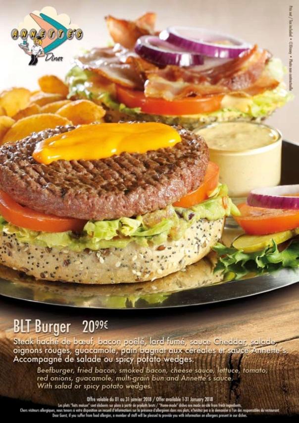 BLT burger (janv 18)