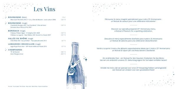 Walt's - menu 25e