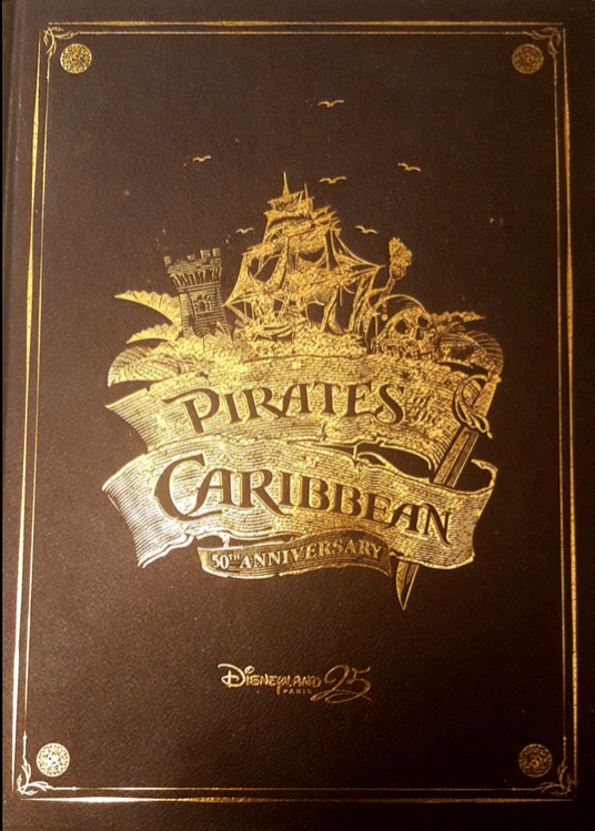 Couverture Livre Pirates Of The Caribbean 50 Disneyland