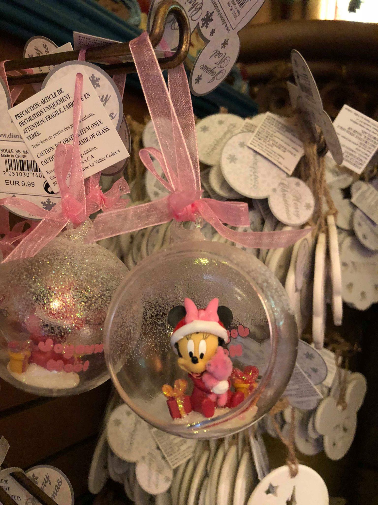 boule noel disney 2018 Le Noël Enchanté Disney 2018 : les informations !   Disneyland  boule noel disney 2018
