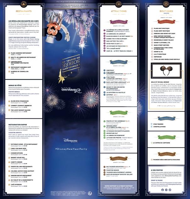 Programme & plan Soirée du Nouvel an 1:2