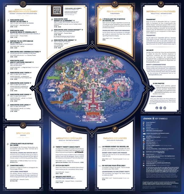 Programme & plan Soirée du Nouvel an 2:2