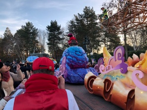 Raphaël durant la Disney Stars on Parade.