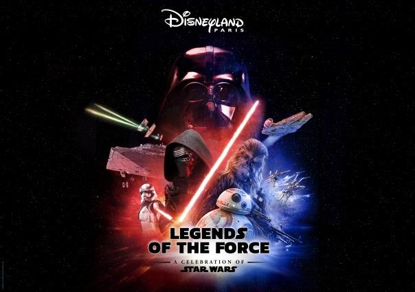 Legends of the Force – A Celebration of Star Wars v Disneyland Paris 2020